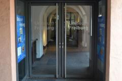 Eingang zum Uniseum Freiburg © R. Gschwendtner 2012