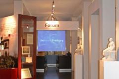 Im Forum können wahlweise bis zu acht Kurzfilme angewählt werden © R. Gschwendtner 2012