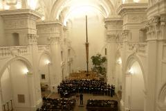 In der Universitätskirche finden unter anderem Auftritte studentischer Chöre statt - hier der Unichor. © Rüdiger Buhl