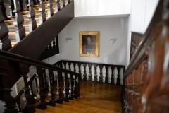 Treppenhaus im Inneren des Gebäudes © P. Mesenholl 2009