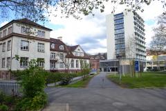 Gebäude der Mathematik und der Physik © Universität Freiburg 2012