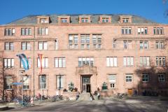 Das Kollegiengebäude I zwischen wilhelminischem Prunk, Jugenstil und Nazi-Kunst © P. Mesenholl 2009