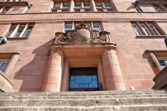 1906 bis 1911 entstand das repräsentative Universitätsgebäude (heute: Kollegiengebäude I) © P. Mesenholl 2009