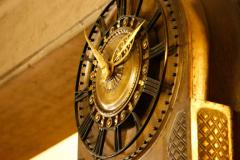 Uhr im Jugendstil © P. Mesenholl 2009