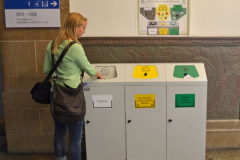 Auch die Uni Freiburg legt Wert auf Mülltrennung © R. Gschwendtner 2012