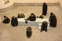 """""""Die neun Musen"""" von der Schweizer Bildhauerin Bettina Eichin im Erdgeschoss des KG III © R. Gschwendtner 2012"""