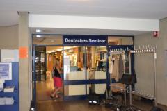 Eingang in das Deutsche Seminar © R. Gschwendtner 2012