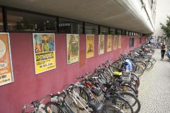 Fahrradabstellplätze am Kollegiengebäude III © Uni Freiburg 2012