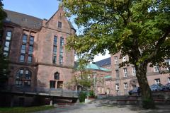 Das Kollegiengebäude IV der Universität Freiburg wurde zwischen 1896 und 1902 von Carl Schäfer entworfen © Universität Freiburg 2012