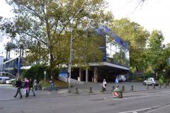 Eingangsbereich der Mensa I in der Rempartstraße © Universität Freiburg 2012