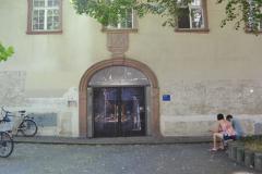 Eingang zum historischen Peterhofkeller © R. Gschwendtner 2011