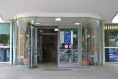 Eingang zum Rektorat am Fahnenbergplatz© R. Gschwendtner 2012