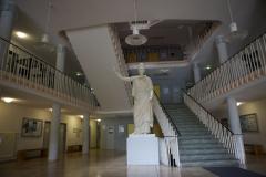 Eingangsbereich des Rektorats © P. Mesenholl 2009