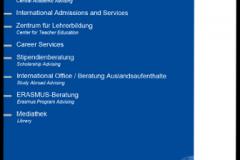 Im neuen Service Center Studium wurden alle zentralen Informations- und Beratungsstellen für Studierende zusammengezogen © M. Feige 2014