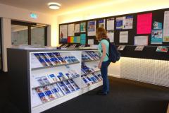 Darüber hinaus gibt es Informationen rund um Bewerbung, Zulassung und Einschreibung © R. Gschwendtner 2012