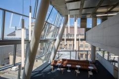 Das moderne Interieur der UB© Medienzentrum 2015