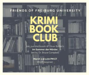Book Club March 3 at 5pm EST
